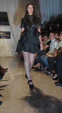 Laura Zúñiga, Miss Sinaloa 2008, una semana antes de ser detenida.  Foto Marco Ruiz /El Debate