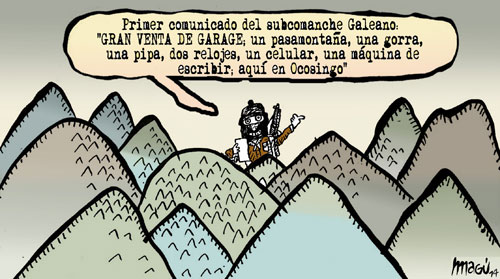 Desde las montañas - Magú