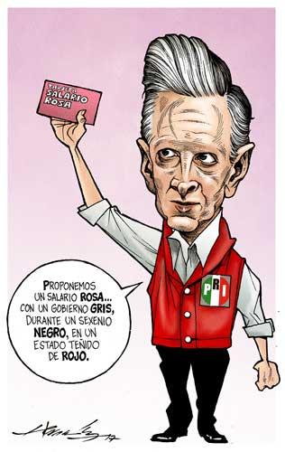 Los colores del PRI - Hernández