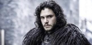 Kit Harington como Jon Snow em Game of Thrones
