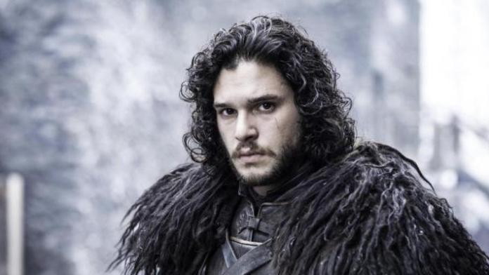 Kit Harington como Jon Snow em Game of Thrones