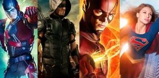 Legends, Arrow, Flash e Supergirl Séries de TV