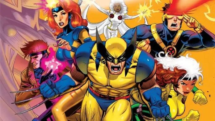 imagem promocional do desenho X-Men