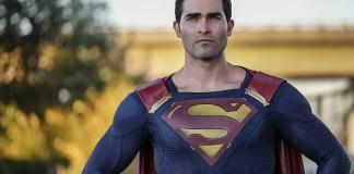 Tyler Hoechlin como o Superman na série Supergirl