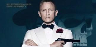 Daniel Craig como o agente 007 em material promocional do filme Spectre
