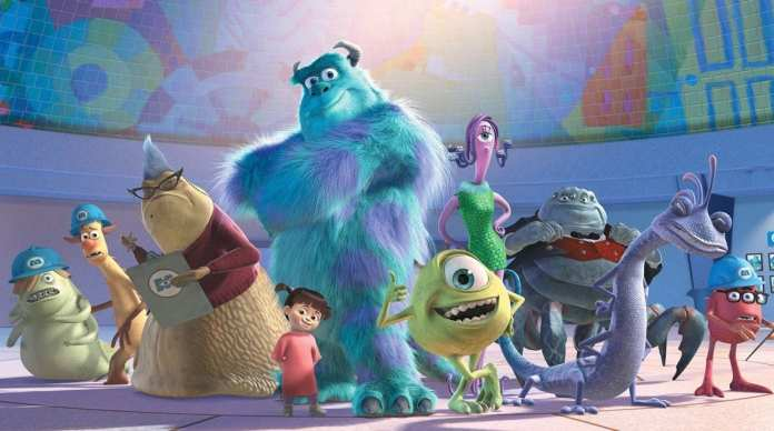Imagem do filme Monstros S.A.