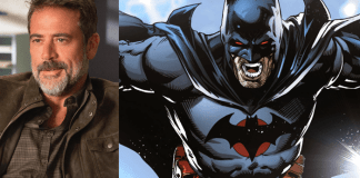 Jeffrey Dean Morgan e o Batman de Flashpoint
