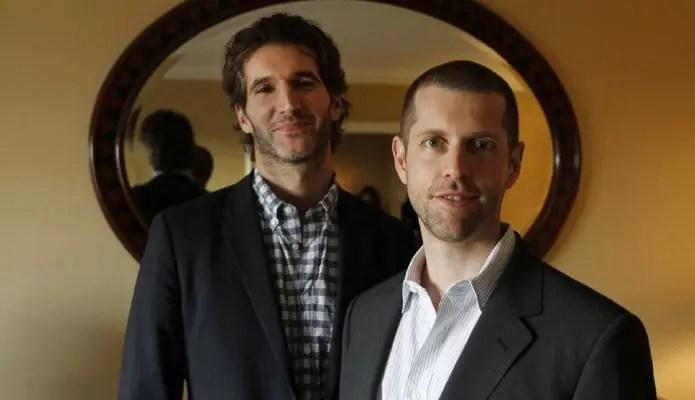 D.B. Weiss e David Benioff game of thrones