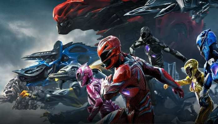 Banner Power Rangers
