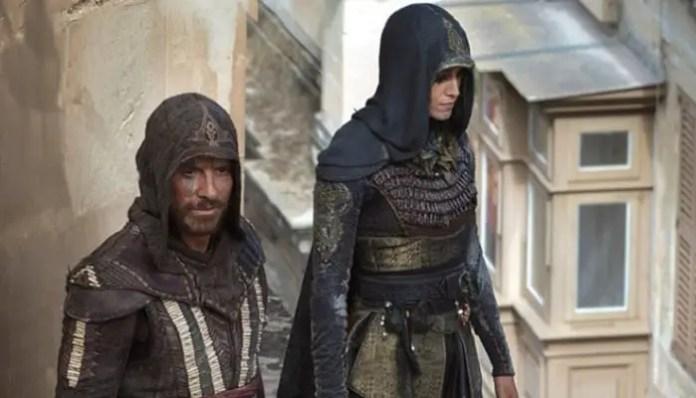 Michael Fassbender em Assassin's Creed