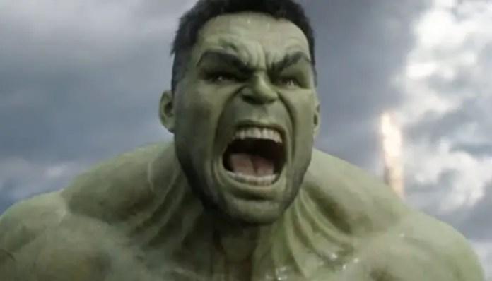Imagem do Hulk em Thor: Ragnarok