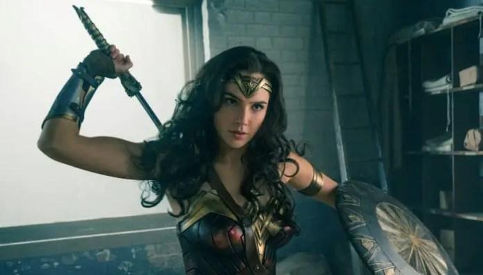Imagem promocional do filme Mulher-Maravilha