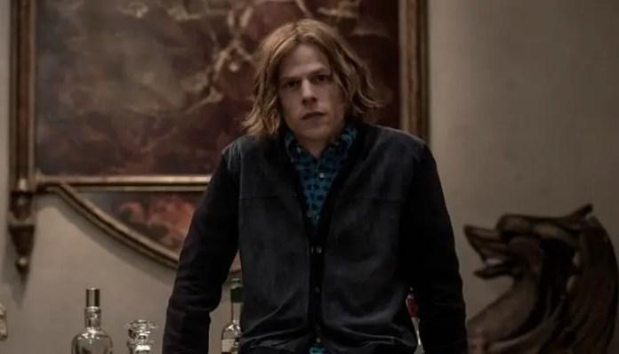 Jesse Eisenberg Lex Luthor Liga da Justiça