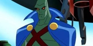 Imagem do Caçador de Marte na série animada da Liga da Justiça