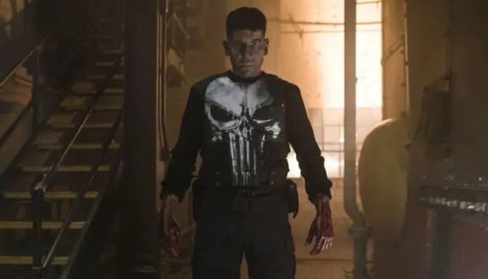 Jon Bernthal em imagem promocional da série O Justiceiro