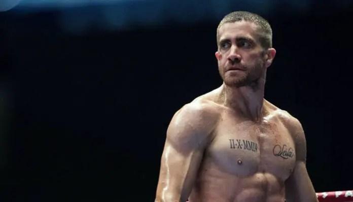 Jake Gyllenhaal no filme nocaute