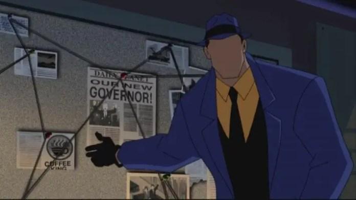Personagem Questão DC Comics