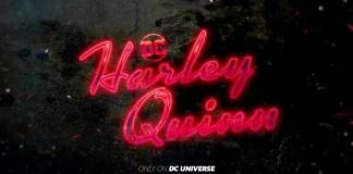 Banner da série animada Harley Quinn