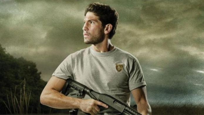 Imagem promocional de Jon Bernthal em The Walking Dead