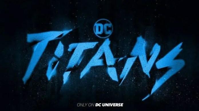 Logo de Novos Titãs