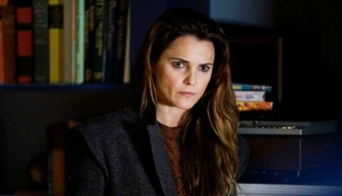 Keri Russell na série The Americans