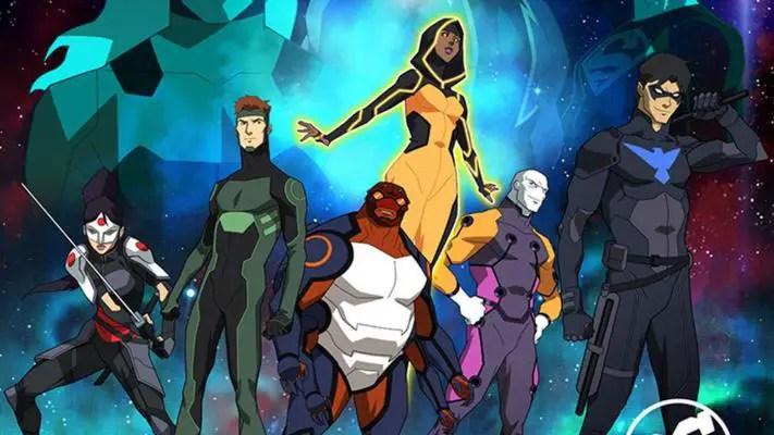 Resultado de imagem para Young Justice: Outsiders