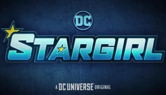 Logo promocional da série Stargirl