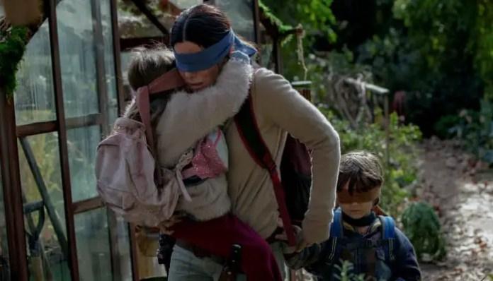 Imagem do filme Caixa de Pássaros / Bird Box