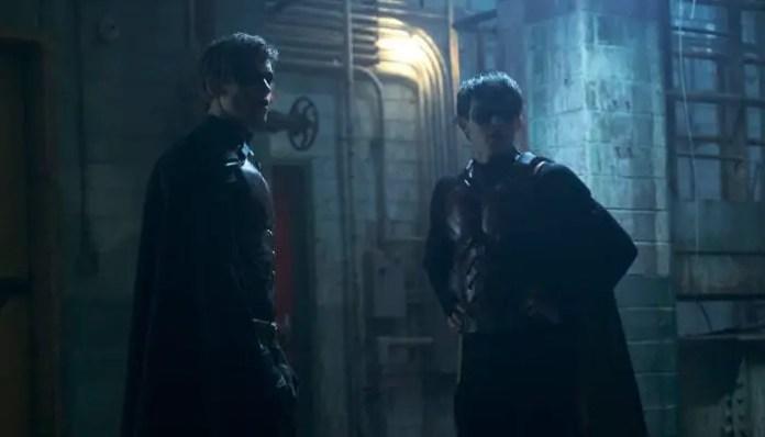 Dick e Jason Todd em imagem de Titans