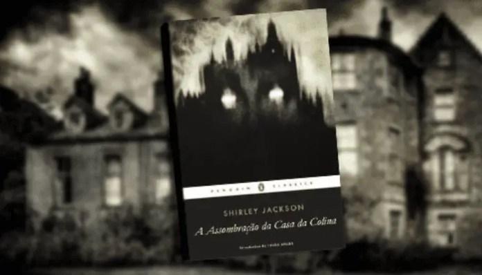 capa do livro A Assombração da Casa da Colina