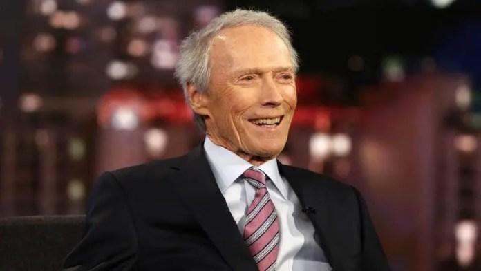 Imagem de Clint Eastwood, diretor de cinema.