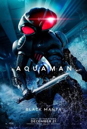 Pôster do Arraia Negra em Aquaman