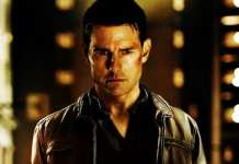 Imagem de Tom Cruise como Jack Reacher