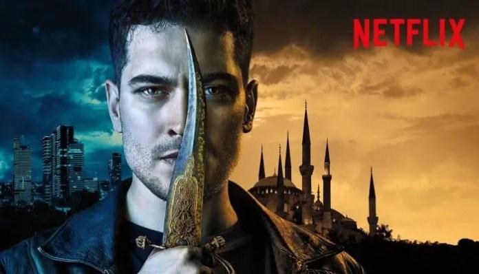 Imagem promocional da série O Último Guardião