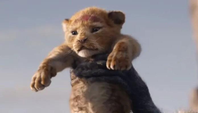 Imagem promocional do filme O Rei Leão