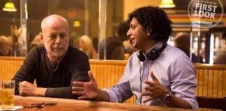M Night Shyamalan e Bruce Willis