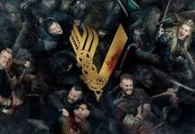 Imagem promocional da série Vikings