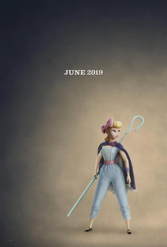 Toy Story 4 | Retorno de Betty é destaque em curto teaser 1