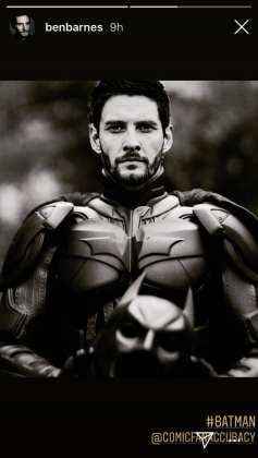 Ben Barnes como Batman fan art
