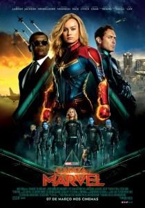 pôster de Capitã Marvel