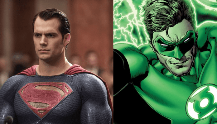 Superman e Lanterna Verde