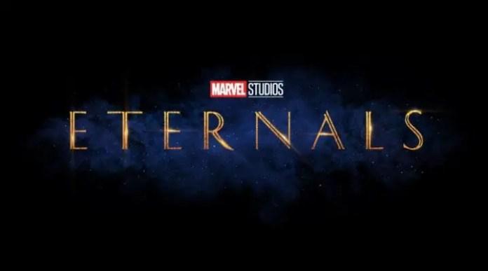Logo do filme Os Eternos, um dos filmes adiados para 2021.