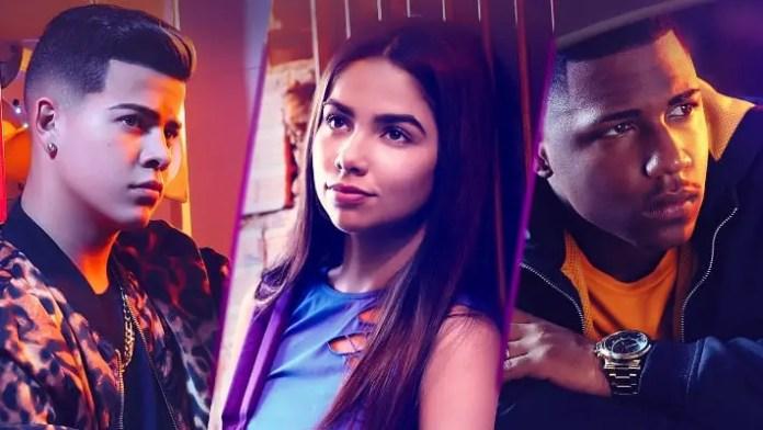 Sintonia 1ª temporada imagem promocional