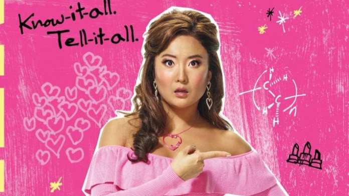 ashley park no poster promocional de mean girls