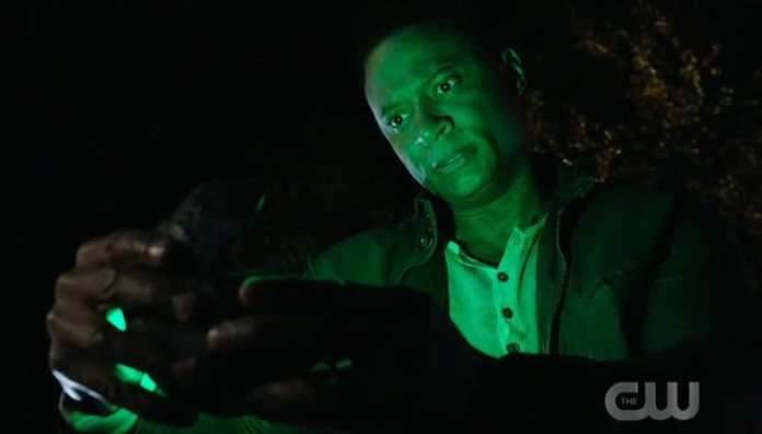 John Diggle como Lanterna verde