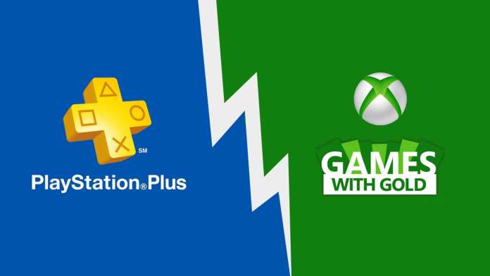 Playstation Plus e xbox live gold logos