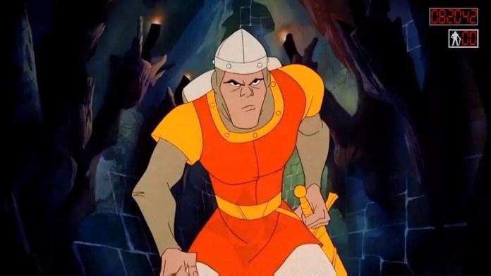 Imagem do filme Dragon's Lair