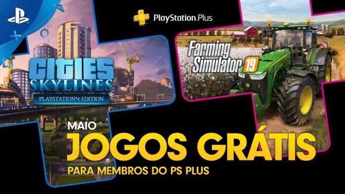Maio de 2020 na Playstation Plus