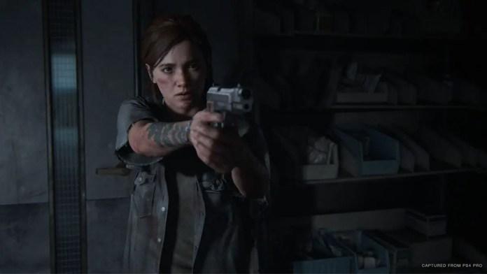 Ellie em busca de Nora em The Last of Us Parte II