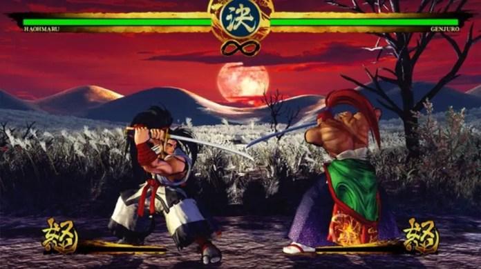 Imagem do jogo Samurai shodown
